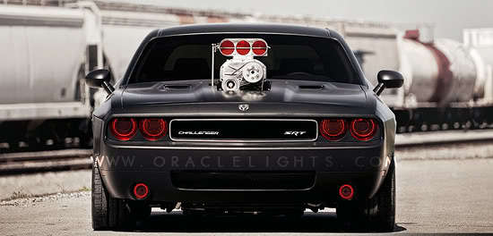 Dodge Challenger Oracle Halo Headlights Kit 2008-2013