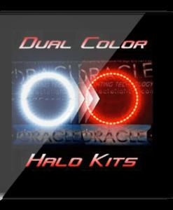 Dual Color Chrysler 300C Headlight Halo Kit Red White
