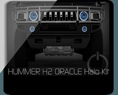 Hummer H2 ORACLE Headlight Halo Kit
