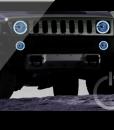 Hummer H3 ORACLE Headlight Halo Kit