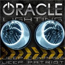Jeep Compass Halo Headlights