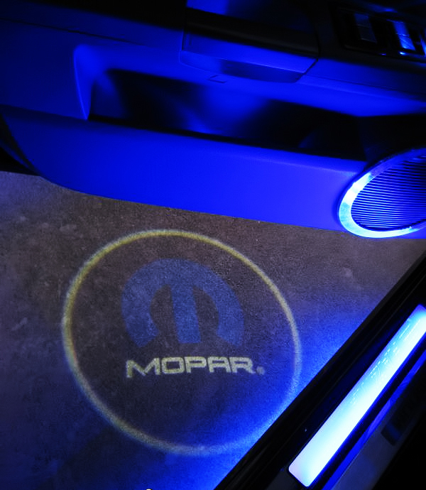 Mopar Car LED Door Projector Lights