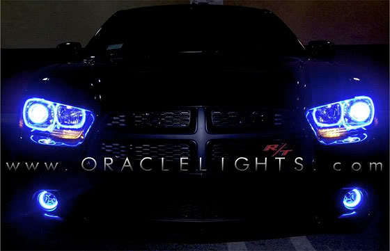 Dodge Charger Oracle Halo Headlights Kit 2011 2013