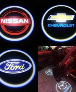 12V Chicago Bears Logo Car Door Wireless LED Ghost Laser Projector Shadow Light