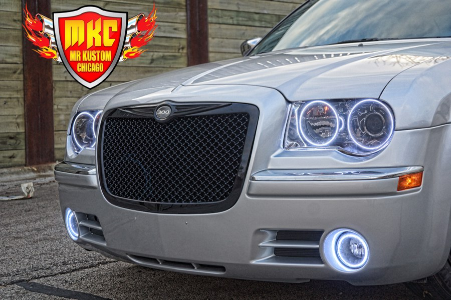 2005 Chrysler 300 Custom Black Mesh Grille