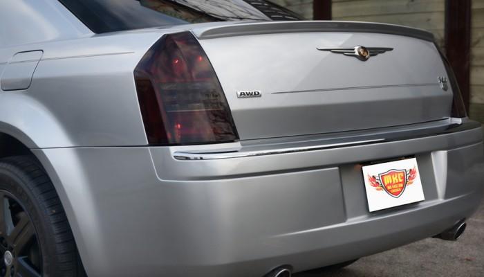 2005 Chrysler 300 Smoked Headlights and Tail Lights