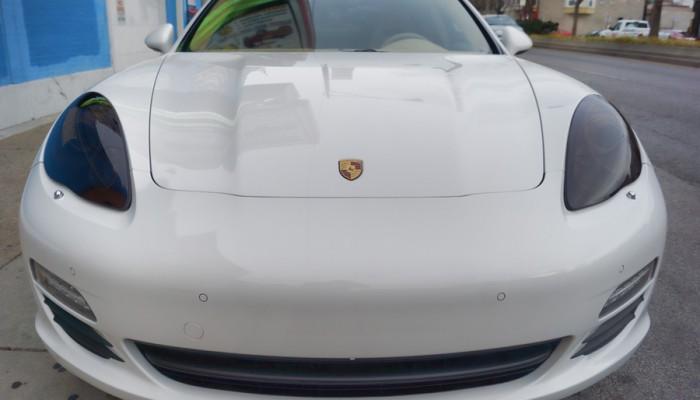 2010 Porsche Panamera Smoked Headlights
