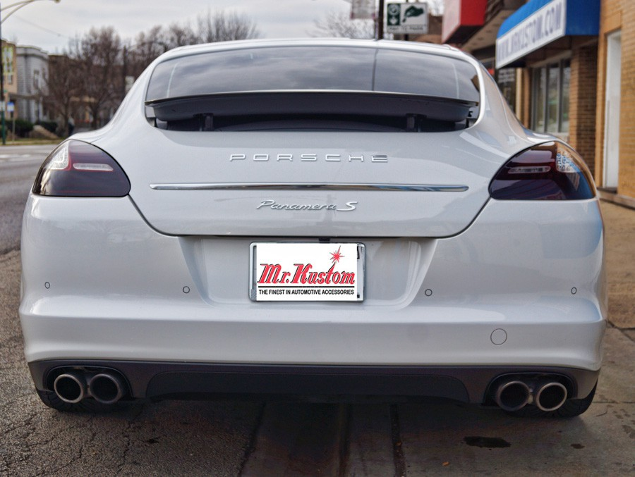 2010 Porsche Panamera Smoked Headlights And Smoked Tail