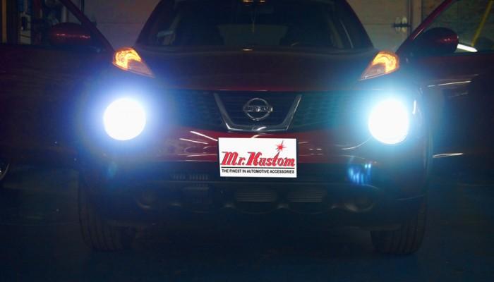 2012 Nissan Juke HID Lights Kit