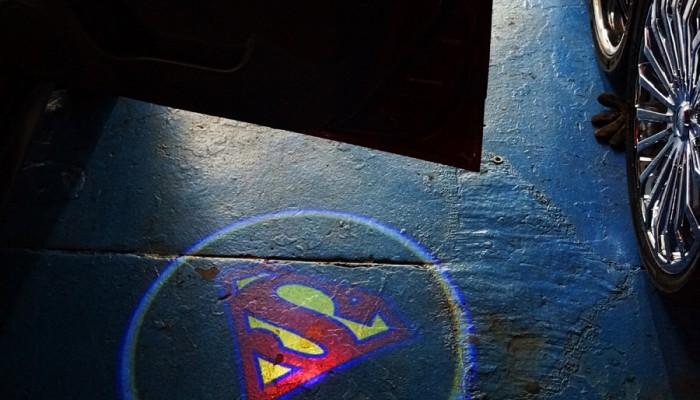 2012 Nissan Juke Superman Door Projector Lights