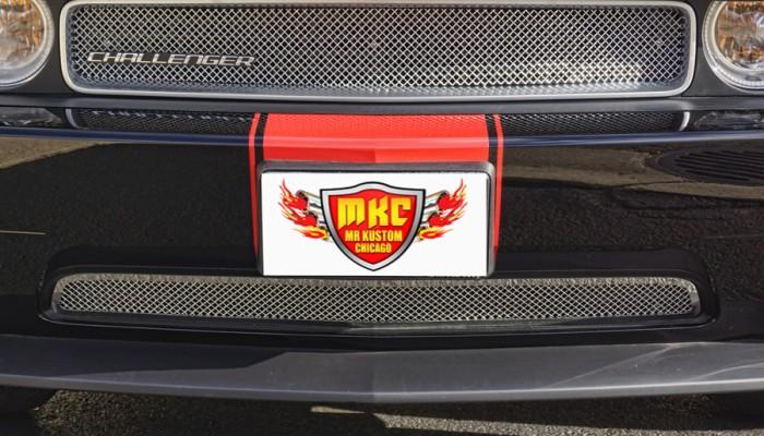 2013 Dodge Challenger Custom EG Mesh Grille