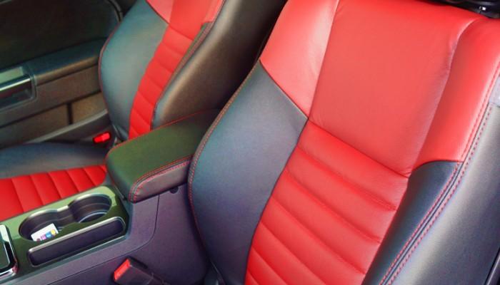 2013 Dodge Challenger Custom Leather Interior Seats