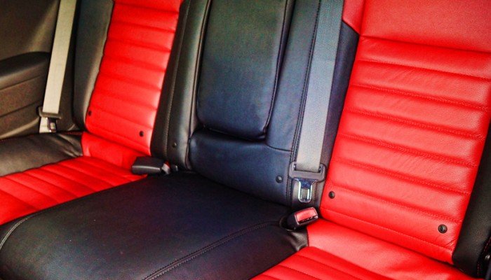 2013 Dodge Challenger Custom Rear Leather Interior Seats