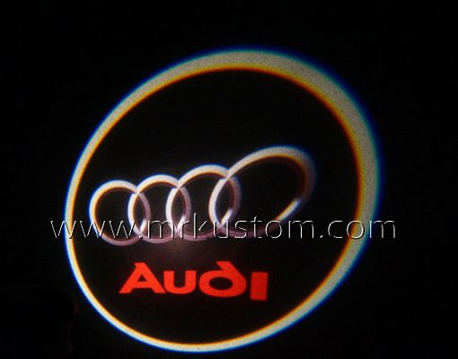 Audi LED Courtesy Logo Projector Lights