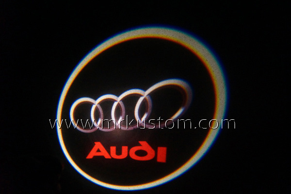Audi LED Door Projector Courtesy Puddle Logo Lights