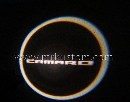 Camaro LED Courtesy Logo Projector Lights