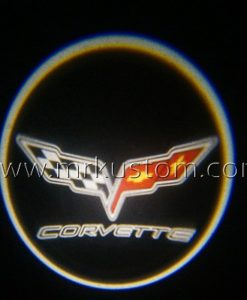 Corvette LED Courtesy Logo Projector Lights
