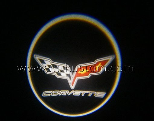 Corvette LED Courtesy Logo Projector Lights