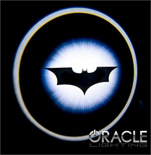 Dark knight batman led door projector logo lights by oracle mr kustom auto accessories and - Batman night light projector ...