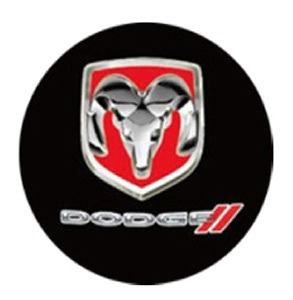 Dodge LED Logo Door Projector Lights