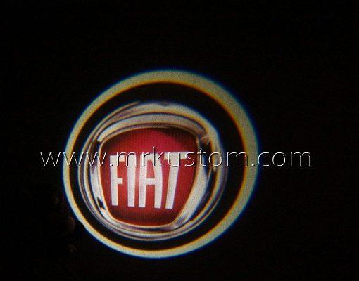 Fiat LED Courtesy Logo Projector Lights