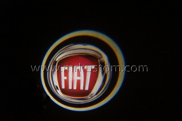 Fiat LED Door Projector Courtesy Puddle Logo Lights