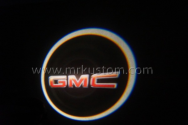 Gmc Led Door Projector Courtesy Puddle Logo Lights Mr