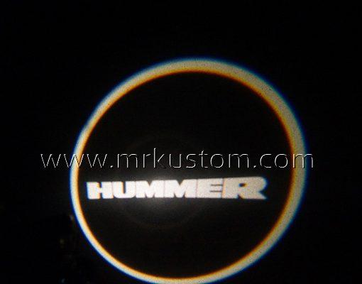 Hummer LED Courtesy Logo Projector Lights