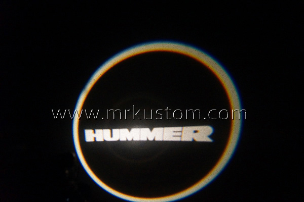 Hummer LED Door Projector Courtesy Puddle Logo Lights