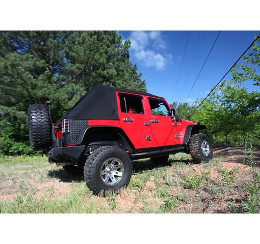 Jeep Powered Soft Top Closed