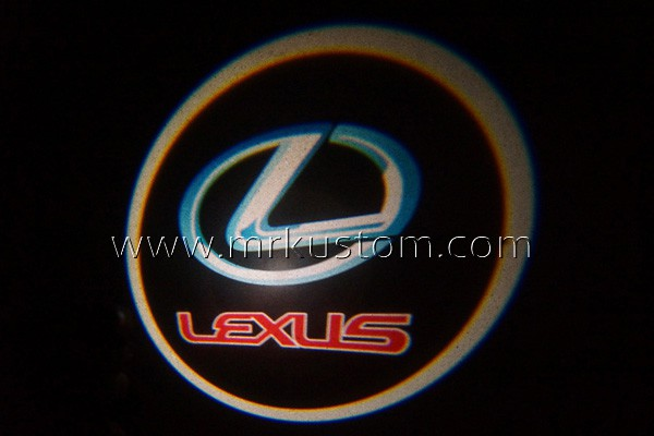 Lexus LED Door Projector Courtesy Puddle Logo Lights