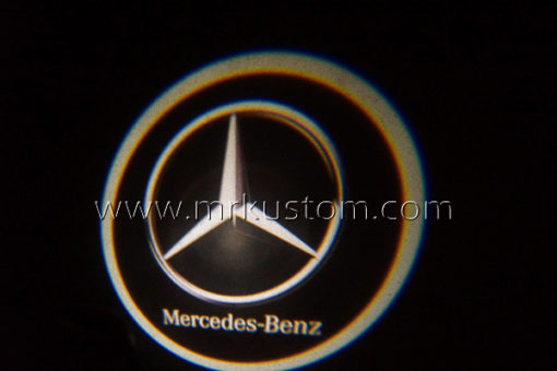 Mercedes Benz LED Courtesy Logo Projector Lights