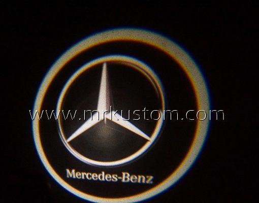 Mercedes Benz LED Courtesy Logo Projector Lights