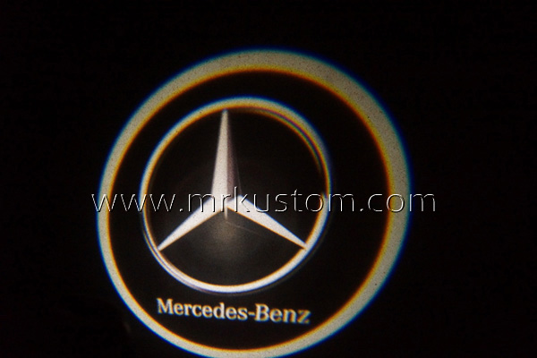 Mercedes Benz LED Door Projector Courtesy Puddle Logo Lights