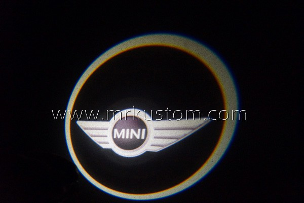Mini Cooper LED Door Projector Courtesy Puddle Logo Lights