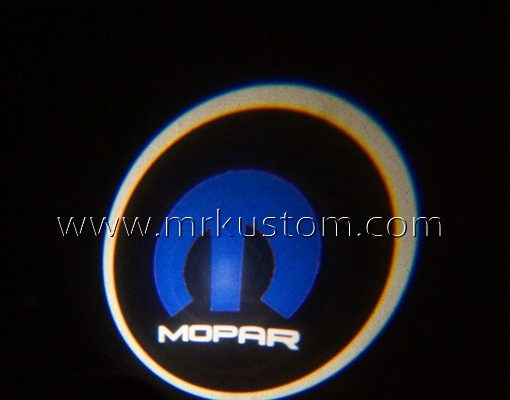 Mopar LED Courtesy Logo Projector Lights