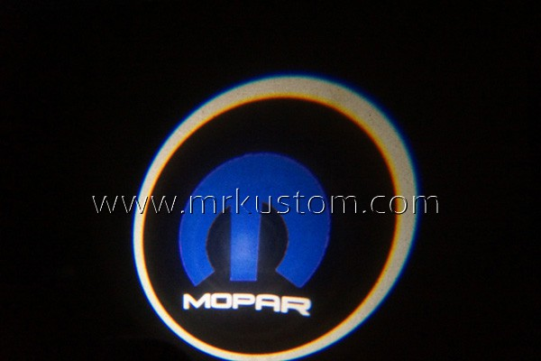 Mopar LED Door Projector Courtesy Puddle Logo Lights