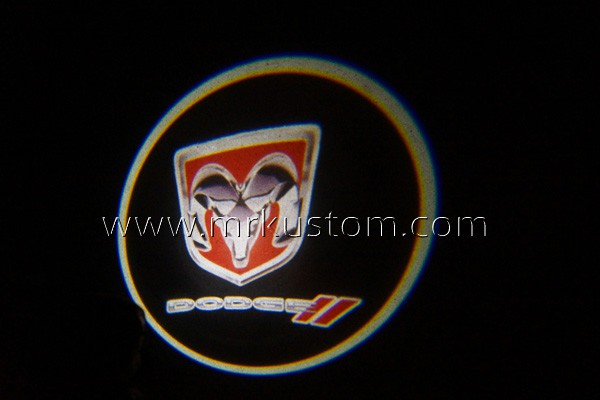 Dodge LED Door Projector Courtesy Puddle Logo Lights