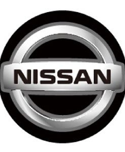 Nissan LED Logo Door Projector Lights Silver
