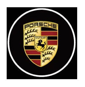 Porsche LED Logo Door Projector Lights