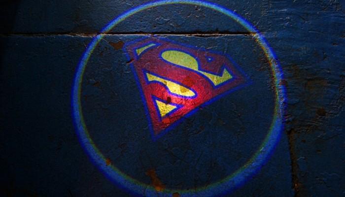 Superman Door Projector Lights