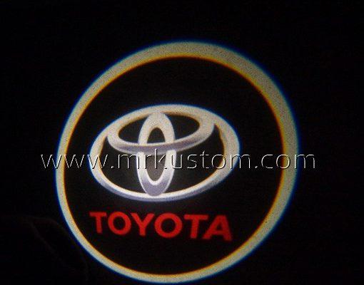 Toyota LED Courtesy Logo Projector Lights