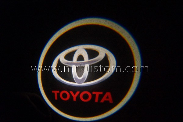 Toyota LED Door Projector Courtesy Puddle Logo Lights