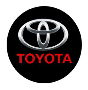 Toyota Led Door Projector Courtesy Puddle Logo Lights Mr