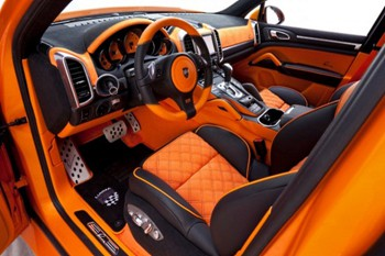 Two Tone Cutom Car Interior Chicago