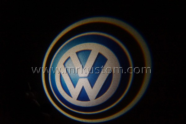 Volkswagen LED Door Projector Courtesy Puddle Logo Lights