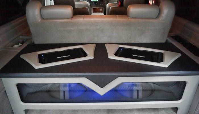 2004 Cadillac Escalade Custom Fosgate Sub Enclosure Box