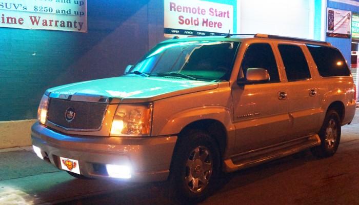 2004 Cadillac Escalade Rockford Fosgate Sub Enclosure