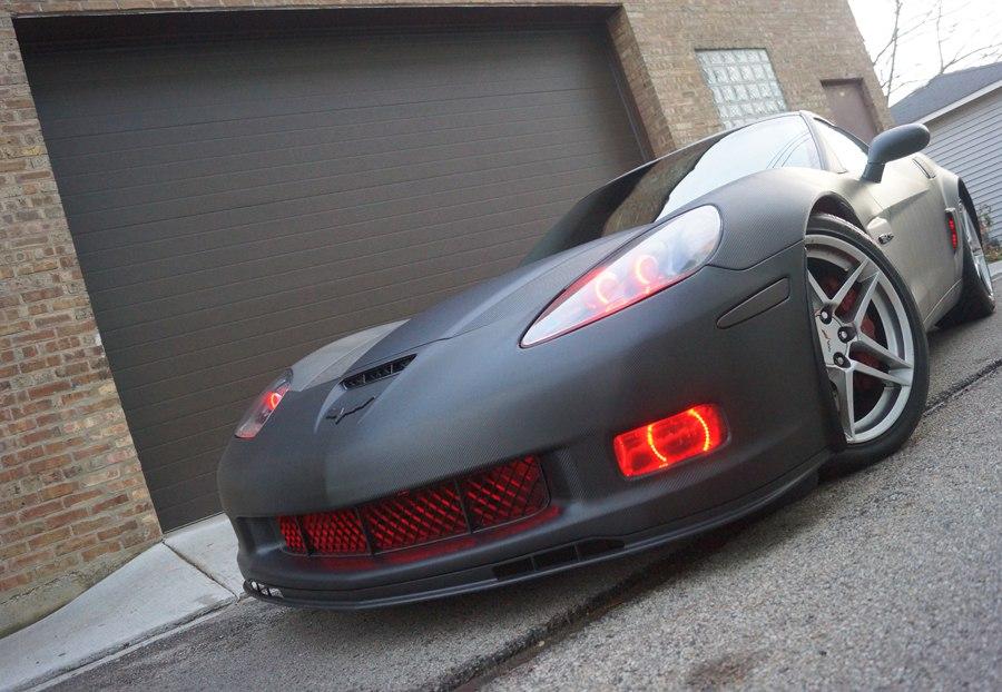 2007 Corvette ZO6 Carbon Fiber Wrap
