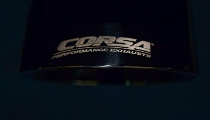 2007 Corvette ZO6 Corsa Exhaust Tip